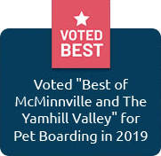 """Voted """"Best of McMiinnville and The Yamhill Valley"""" 2019"""