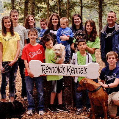 Reynolds Dog Resort family